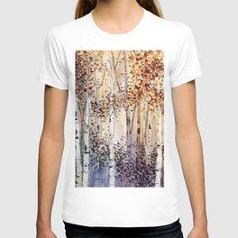 4 season watercolor collection - autumn T-shirt