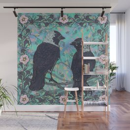 Forever Jackdaws Wall Mural