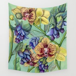 Lost Wing In Bloom Wall Tapestry