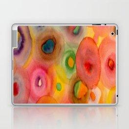 Flowing Circles Laptop & iPad Skin