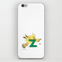 Z is for Zapdos iPhone Skin