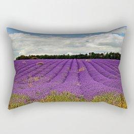 Lavender Landscape Rectangular Pillow