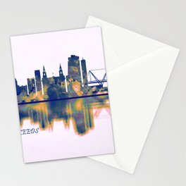 Leeds Skyline Stationery Cards