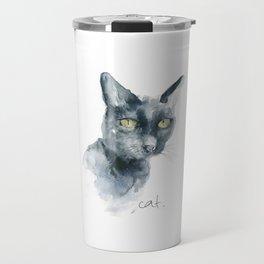 C is for Cat Travel Mug