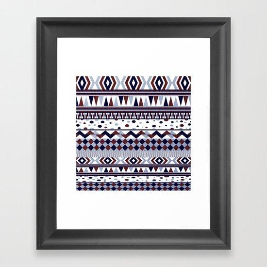 Tribal Vibe Framed Art Print