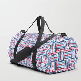 AFE Abstract Basket Weave Duffle Bag