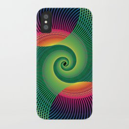 Double Spiral  iPhone Case
