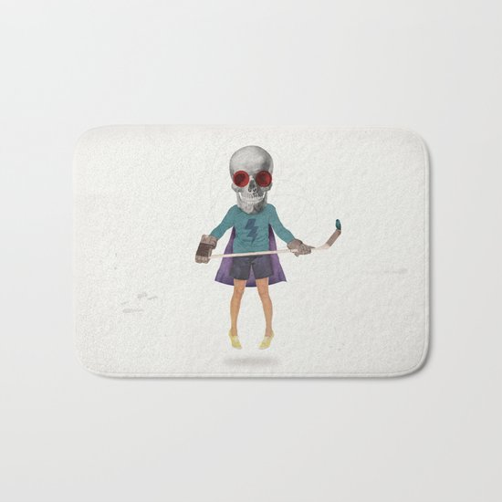 Superhero #9 Bath Mat