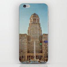 Down Town City Hall Buffalo NY iPhone & iPod Skin