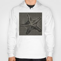 starfish Hoodies featuring STARFISH by Mary Szulc