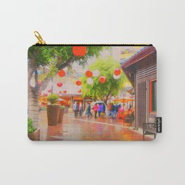 Little Tokyo Japanese Village Rainy Day Carry-All Pouch