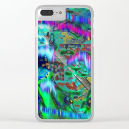 Sigh Kick Turbulance [A Brand New Experiment Series] Clear iPhone Case