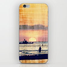 and The world was quiet .... iPhone & iPod Skin