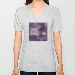 Abstract 06 Unisex V-Neck