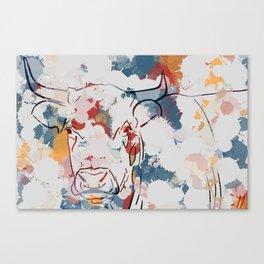 Grosse vache Canvas Print