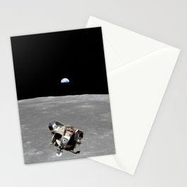 Nasa Picture 2: Apollo 11 the lunar module Stationery Cards