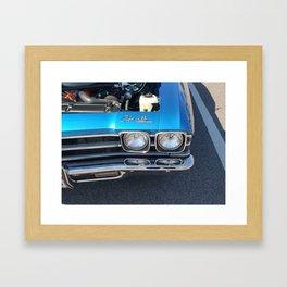 Blue Chevelle Framed Art Print