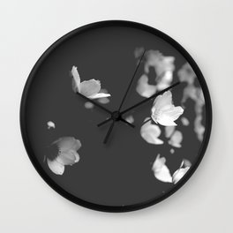 Word only one Wall Clock