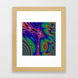 Fractal Op Art 11 Framed Art Print