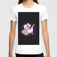 puppycat T-shirts featuring Bee and Puppycat by attercopter