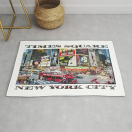 Times Square NYC (poster edition) Rug