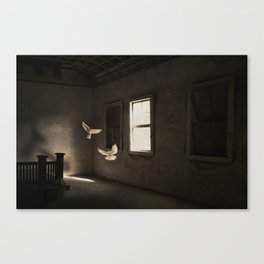 Wandering spirits Canvas Print