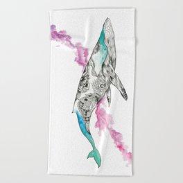 The Wonder Whale Beach Towel