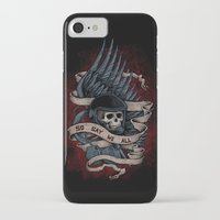 battlestar iPhone & iPod Cases featuring So Say We All by Justyna Dorsz