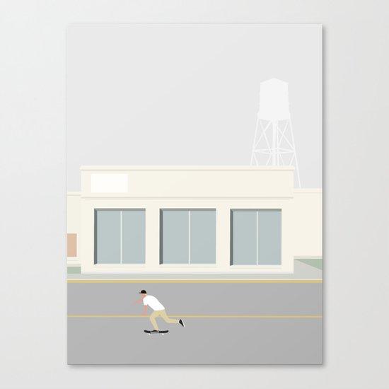 SKATEBOARD TUR Canvas Print