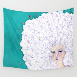 Puffball by Jane Davenport Wall Tapestry