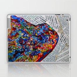 YIN YANG WORDS #society6 #decor #buyart Laptop & iPad Skin