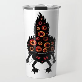 Angry Cat Travel Mug