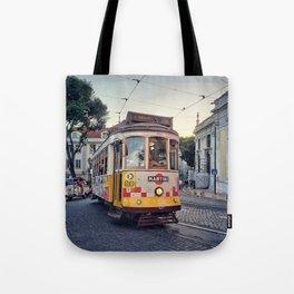 Tram 28 Tote Bag