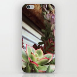 Succulent Bloom iPhone Skin