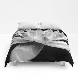 Hopeful Water Lilly III Comforters