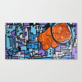 Astronaut Gummy Bear Canvas Print