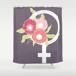 Female #society6 #buyart Shower Curtain
