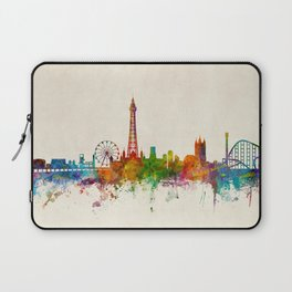 Blackpool England Skyline Laptop Sleeve