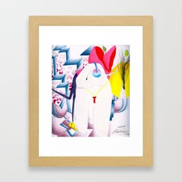 Long Lost Kid. Framed Art Print