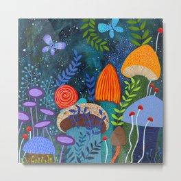 mushroom magic Metal Print