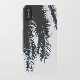Palm Tree leaves abstract iPhone Case