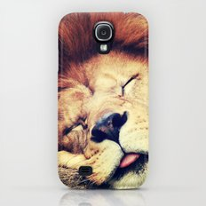 Sleeping Lion - for iphone Slim Case Galaxy S4