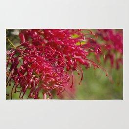 Flor roja Rug