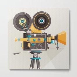 Cine Metal Print