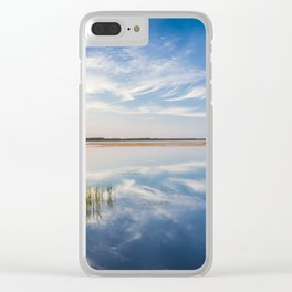 Haapslau and Baltic sea 2.0. Clear iPhone Case