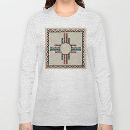 American Native Pattern No. 157 Long Sleeve T-shirt