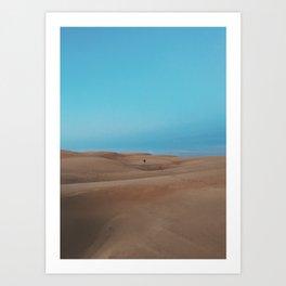 OCEANO DUNES ((3)) Art Print