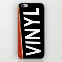 vinyl iPhone & iPod Skins featuring Vinyl by Biff Rendar
