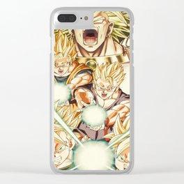 Super Broly Clear iPhone Case