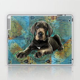 Great Dane Puppy Laptop & iPad Skin